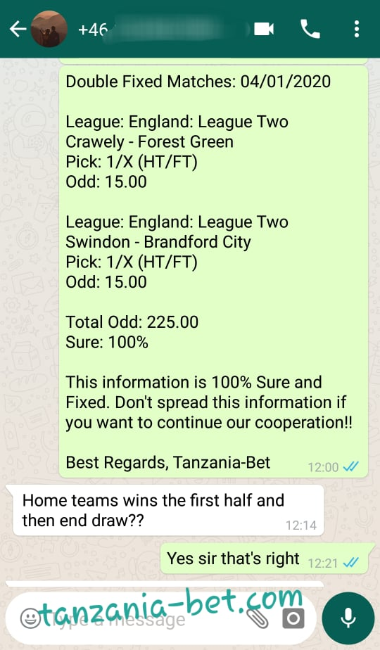 Safe Single Football Tips
