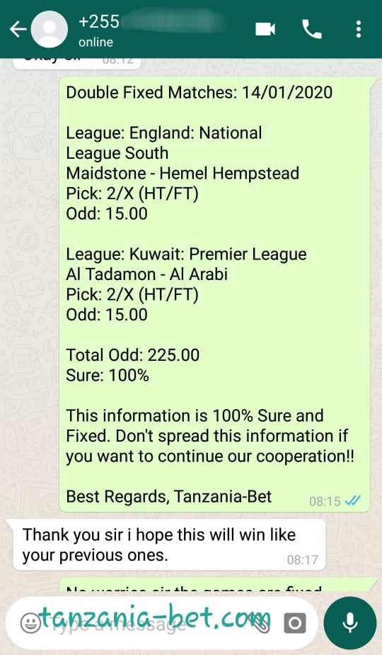 Vip Betting Fixed Odds