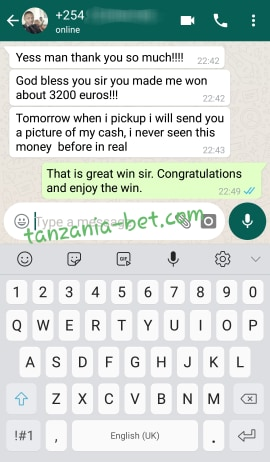 tanzania fixed bet 100% sure