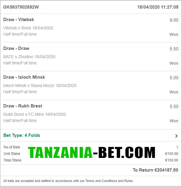 african fixed soccer betting