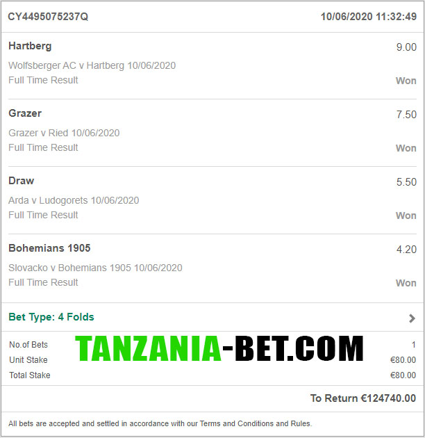 african soccer fixed betting