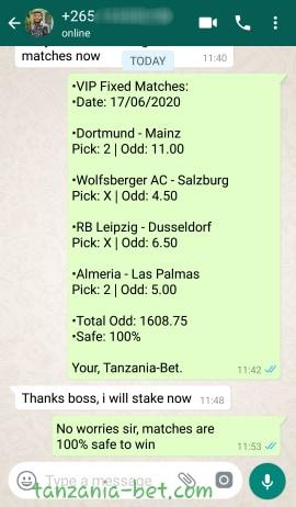 tanzania football predict