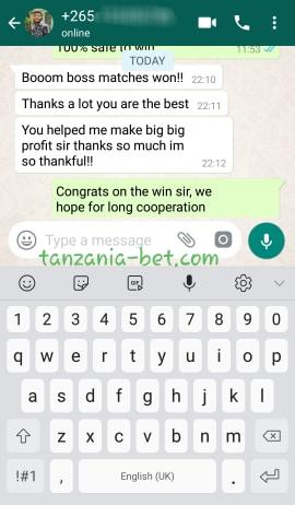 tanzania soccer predictoons