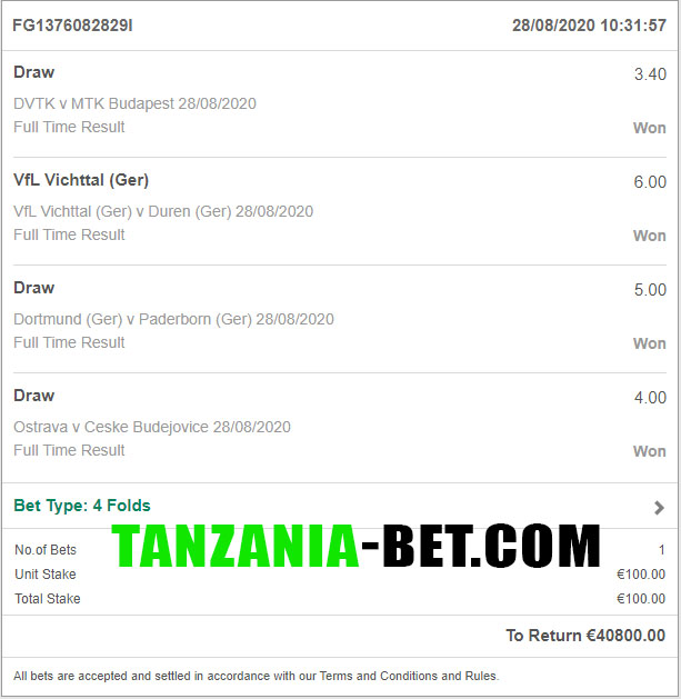 soccer fixed bet 1x2