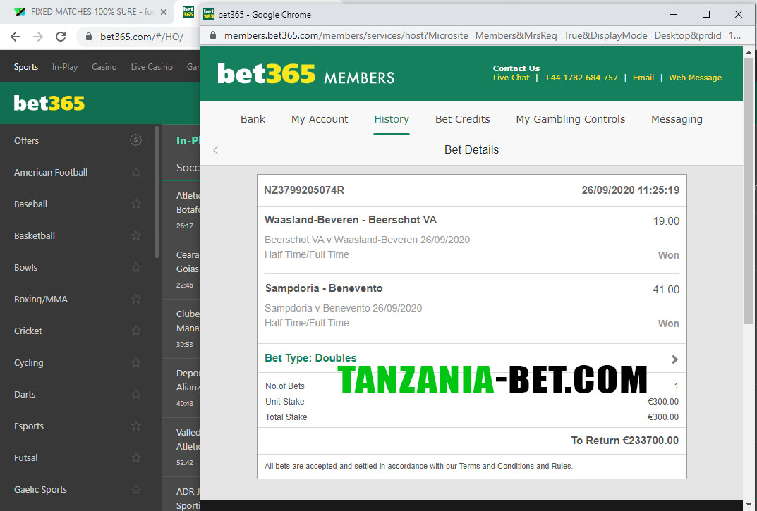 ht ft soccer fixed betting