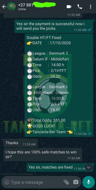 game fixed soccer bet