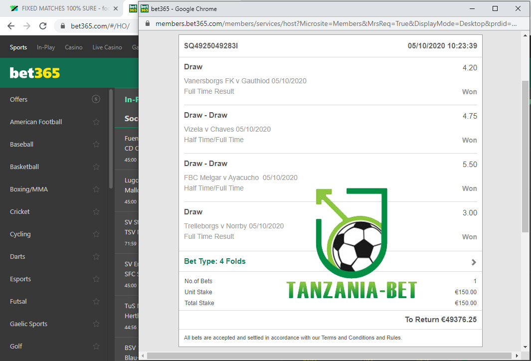 tanzania fixed tips 100% sure
