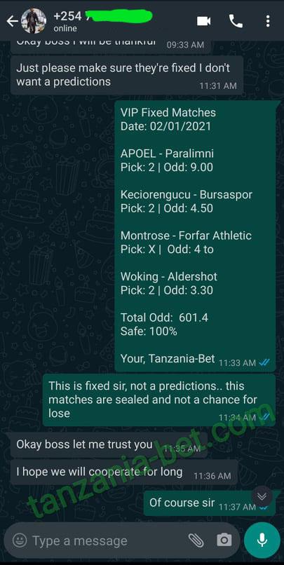 friday football fixed betting
