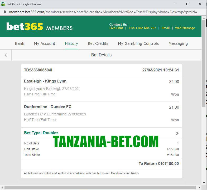 africa bet fixed match
